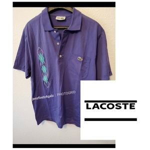NWOT Lacoste Chemise Embroidered Polo Shirt M…